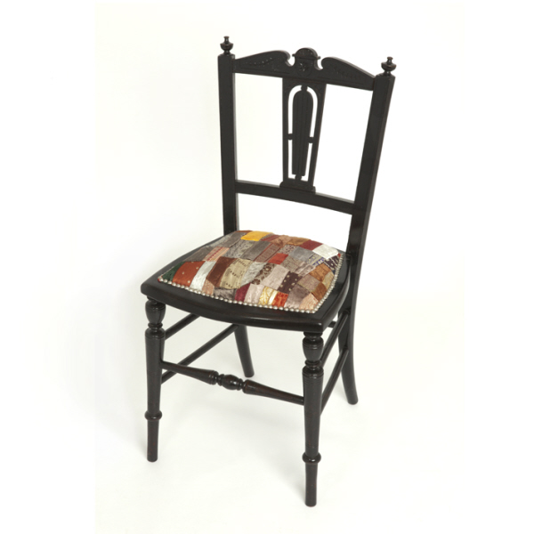 Edwardian patchwork chair for Chaise patchwork xl style